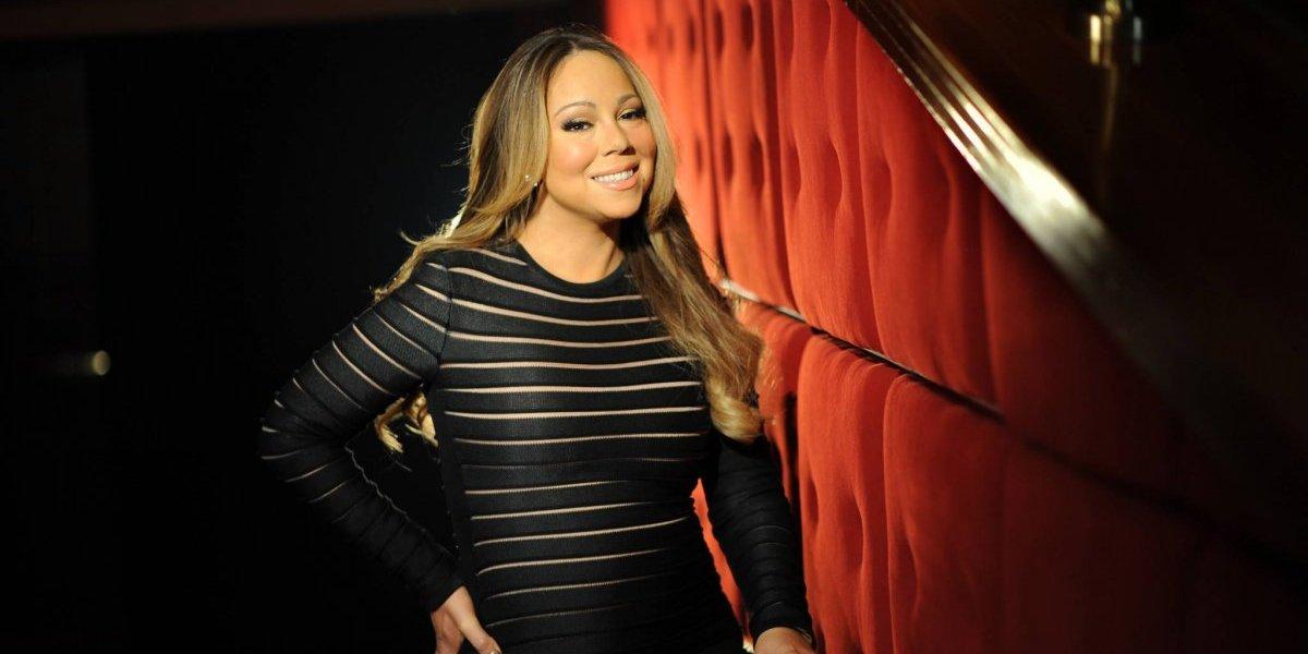 El escote de Mariah Carey que se hizo viral y que no dejó nada a la imaginación