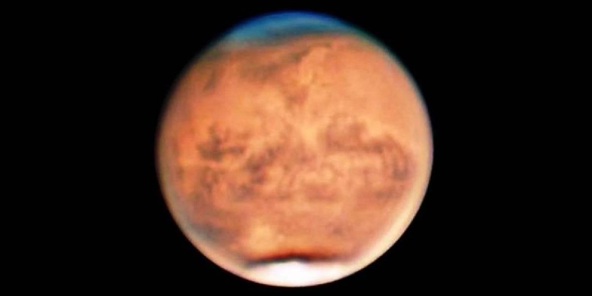 Captan desde Aguadilla una tormenta de polvo producida en Marte