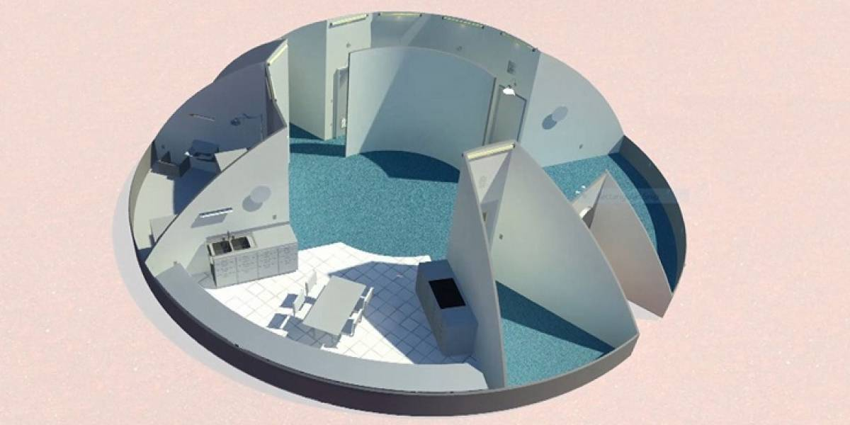 Casas increíbles para vivir en Marte