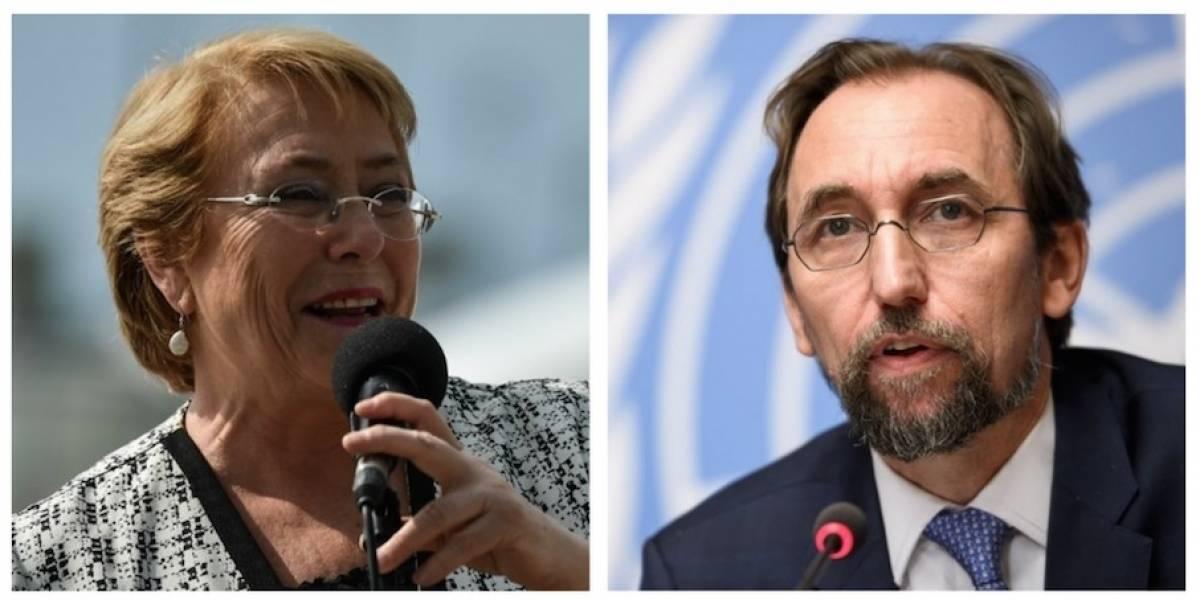 """ONU insta a Michelle Bachelet a """"no callarse"""""""