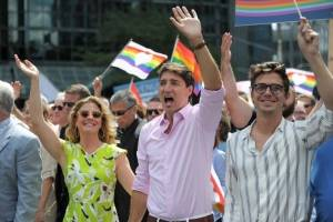 Marcha del Orgullo Gay en Montreal