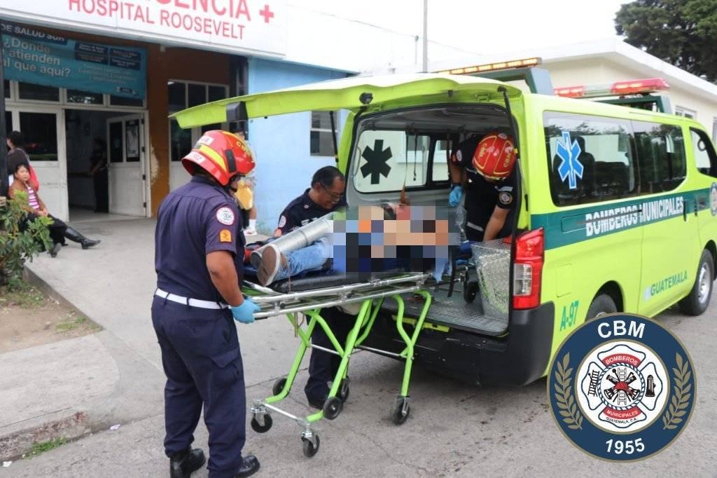 herido por ataque armado en zona 10