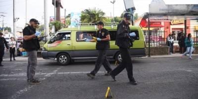 piloto de microbús asesinado en zona 18