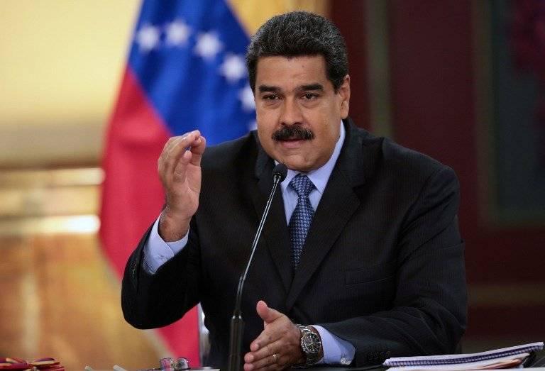 Nicolás Maduro hablando