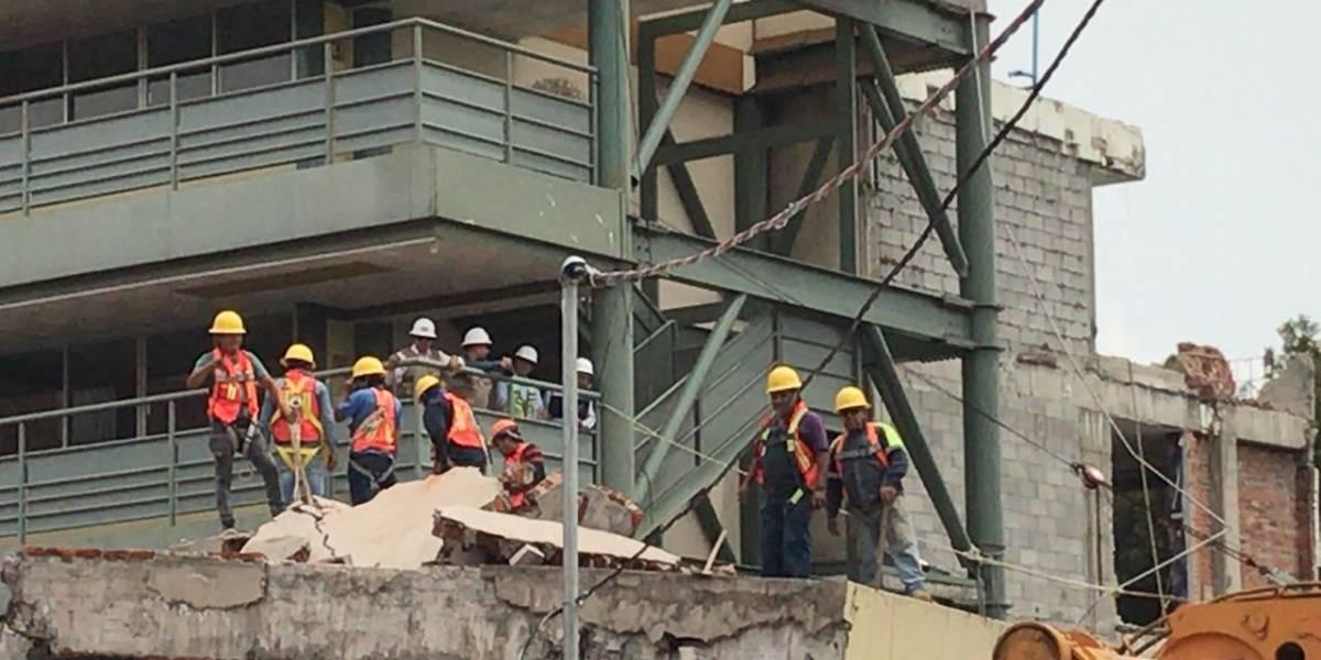 Arranca demolición parcial del Colegio Rébsamen