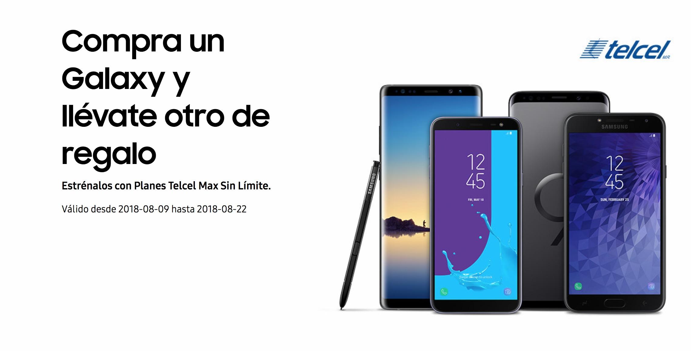 Samsung y Telcel