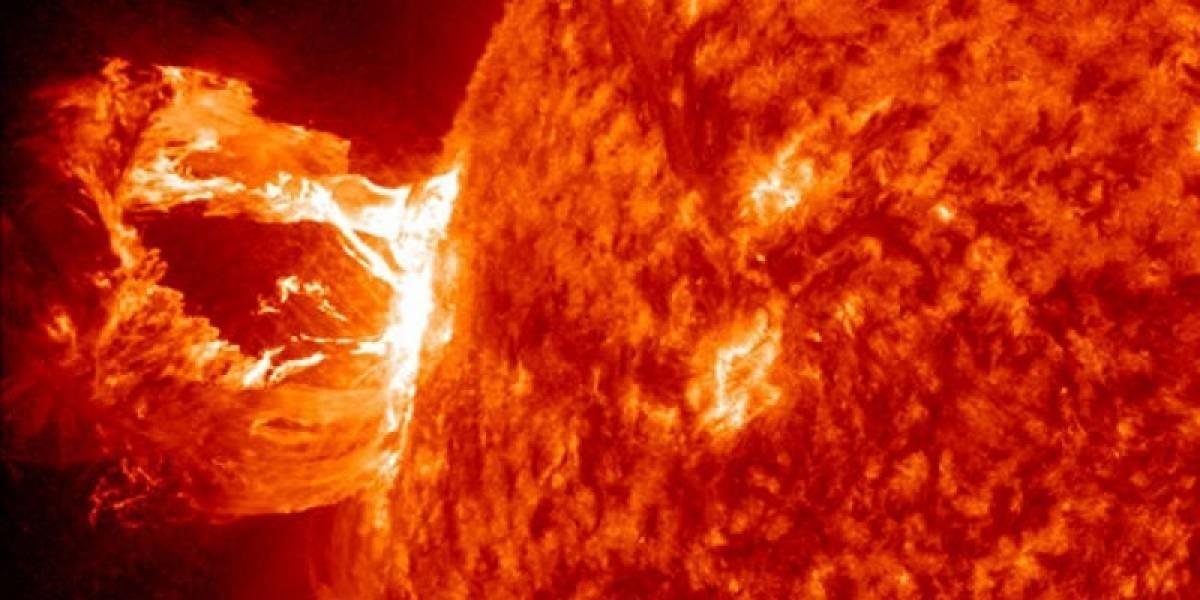 Tormenta solar golpea a la Tierra