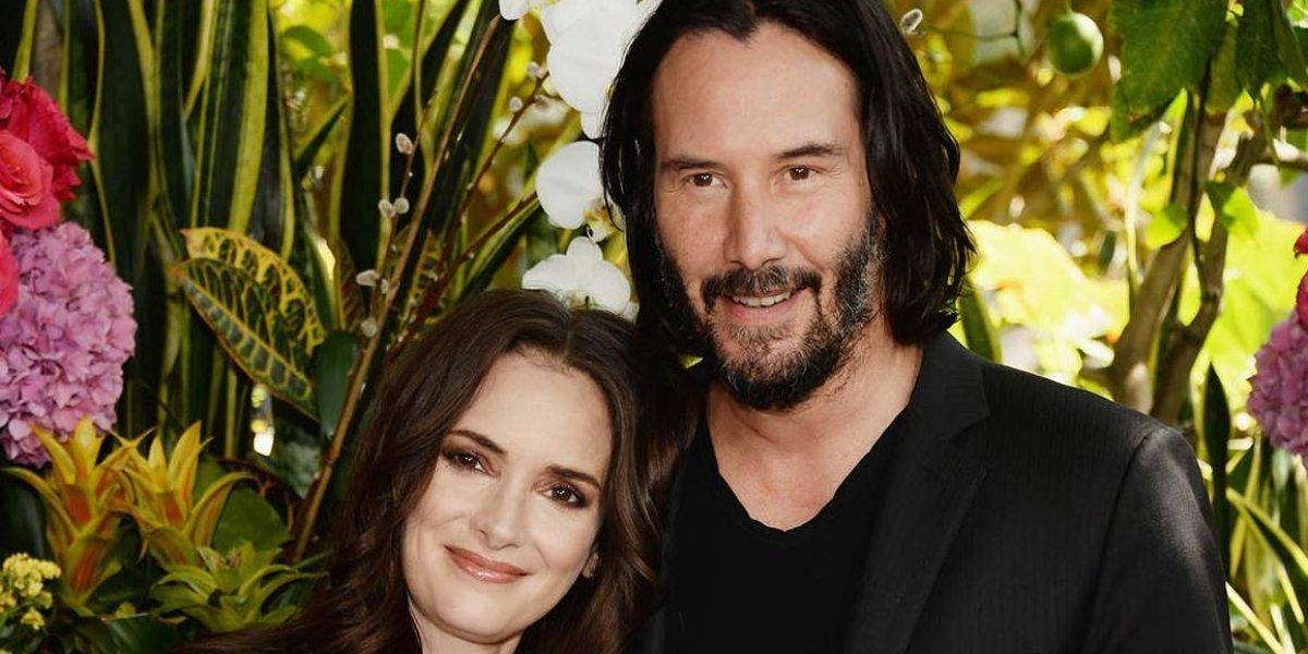 Winona Ryder confiesa que está casada con Keanu Reeves desde 1993