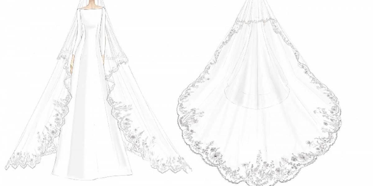 Vestido de novia de Meghan Markle podría ser exhibido en el Castillo de Windsor