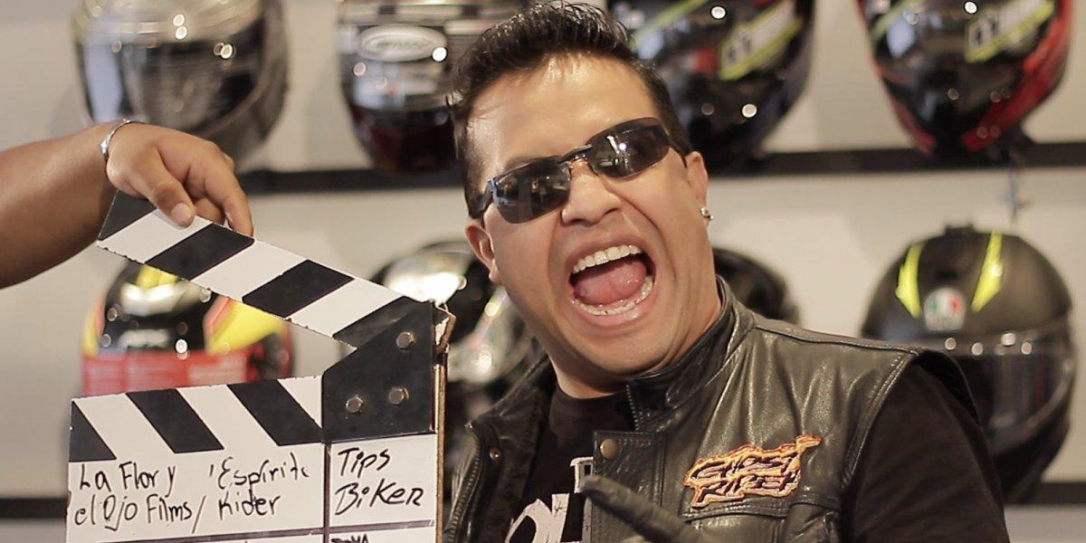 Andrés Olmedo presenta su programa 'Espíritu Rider'