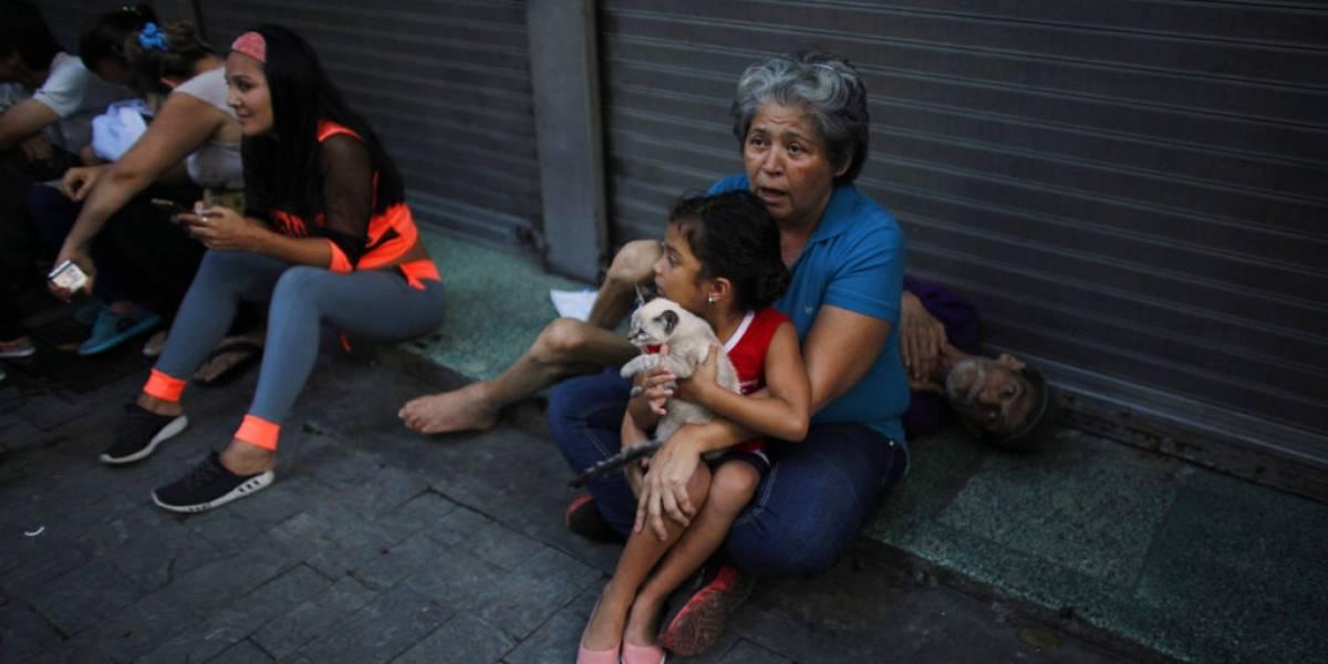 Venezuela ajusta magnitud de sismo a 6.9; reporta saldo blanco