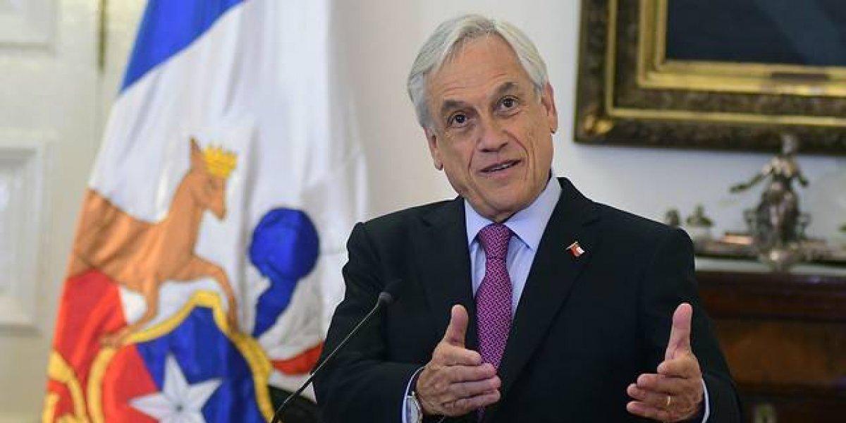 Presidente Piñera anuncia los ejes centrales de su modernización tributaria