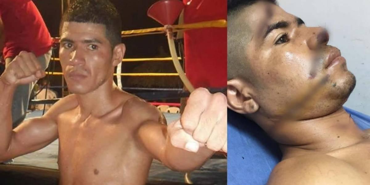 Cien puntos de sutura le tomaron a boxeador agredido tras relación íntima