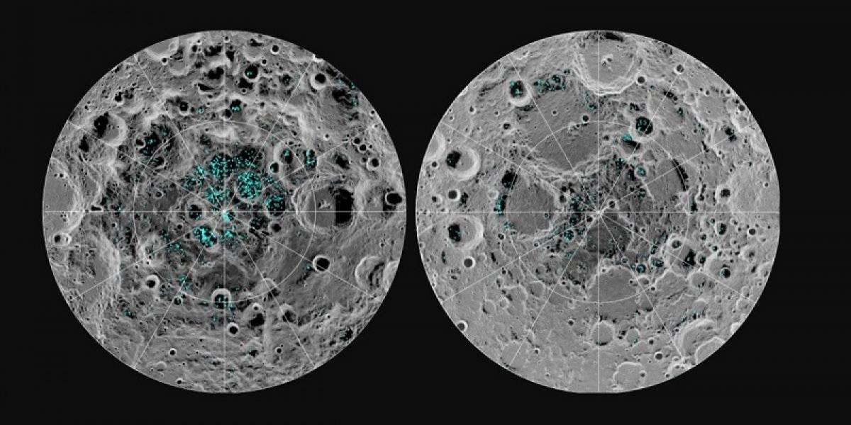 Científicos de la NASA confirman presencia de agua en la Luna