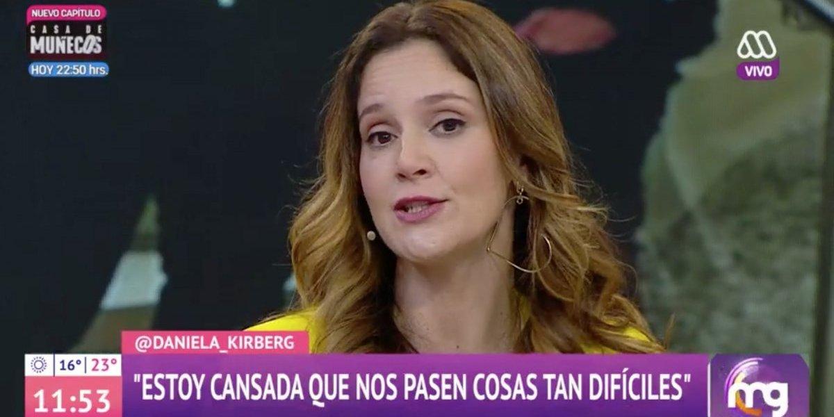 """Daniela Kirberg, esposa de Julián Elfenbein: """"Los niños me preguntaban si el papá se iba a morir"""""""