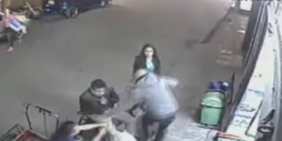 Alias correcaminos, el famoso ladrón que se roba dos celulares en menos de un segundo