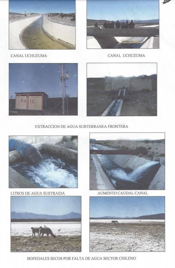 Comunidades aymaras acusan robo de agua