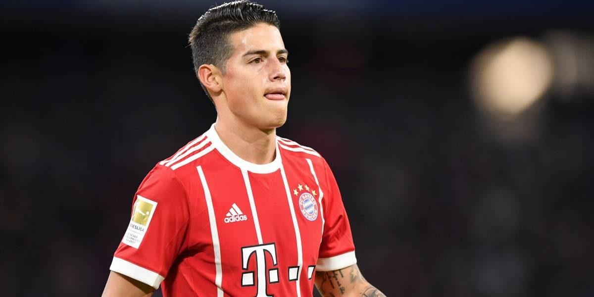 El posible refuerzo de lujo que llegará a acompañar a James en el Bayern Múnich