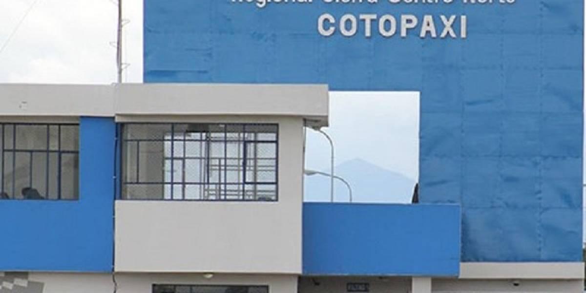 Así fue la fuga de un privado de la libertad de la cárcel de Latacunga