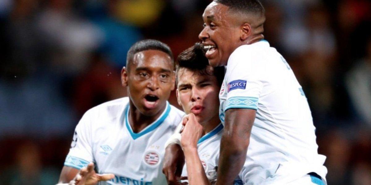 Con gol de Lozano, el PSV se acerca a fase de grupos de la Champions