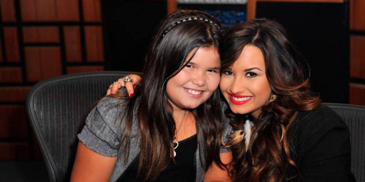Con desgarrador mensaje hermana de Demi Lovato le desea feliz cumpleaños