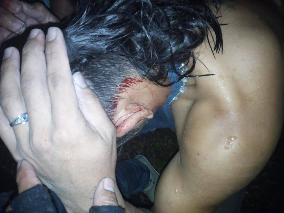 Presuntos delincuentes en Amatitlán