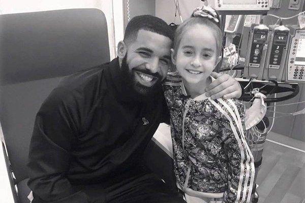 Drake y Sofía Sánchez