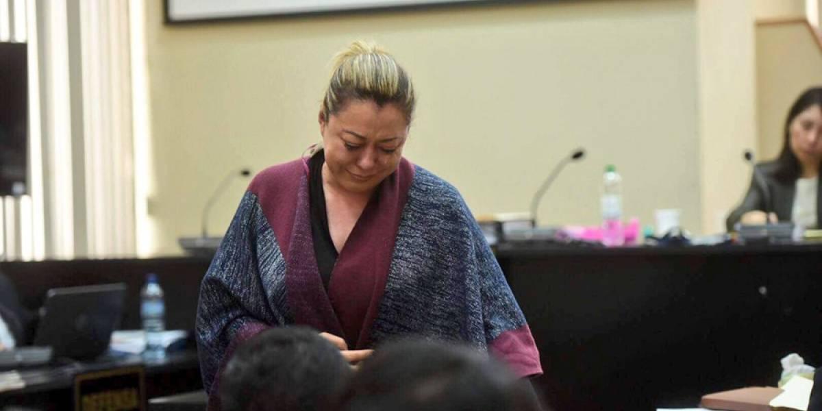 Emilenne Mazariegos quiere salir de la cárcel para cuidar a sus hijos