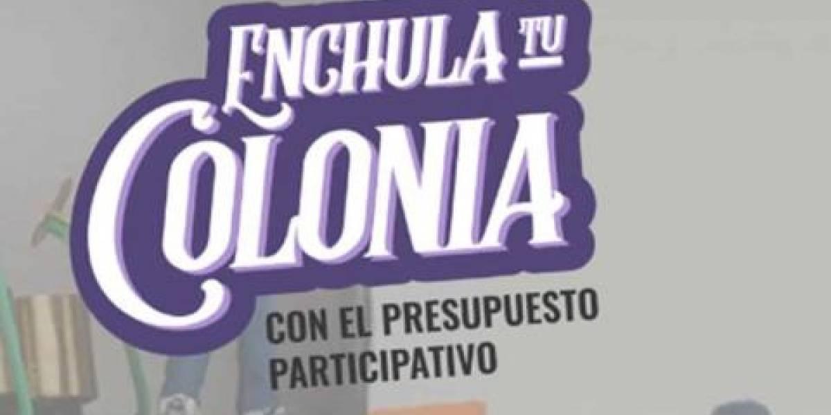 ¿Qué debes saber para votar en ''Enchula Tu Colonia''?
