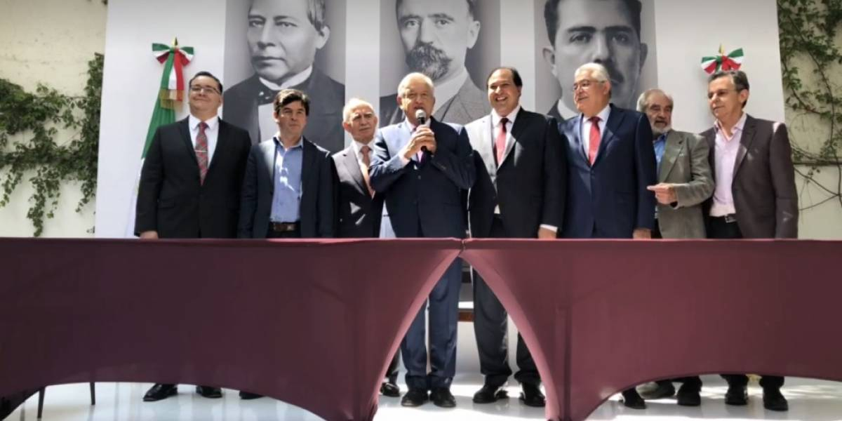 Ellos conformarán el círculo cercano de AMLO en Presidencia