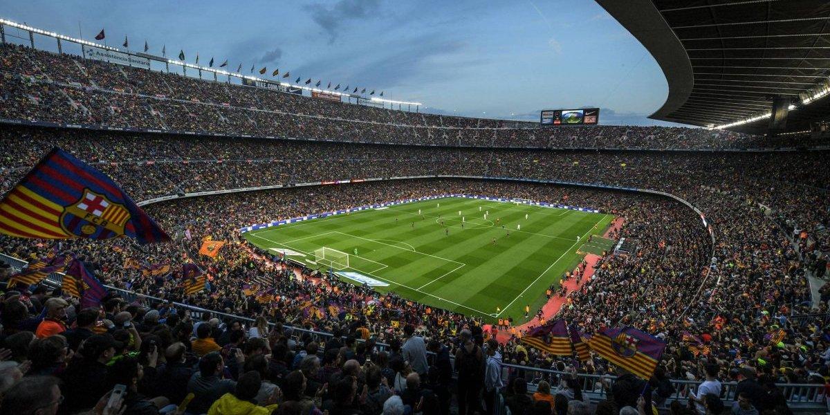Estadio del Barcelona cambiaría de nombre