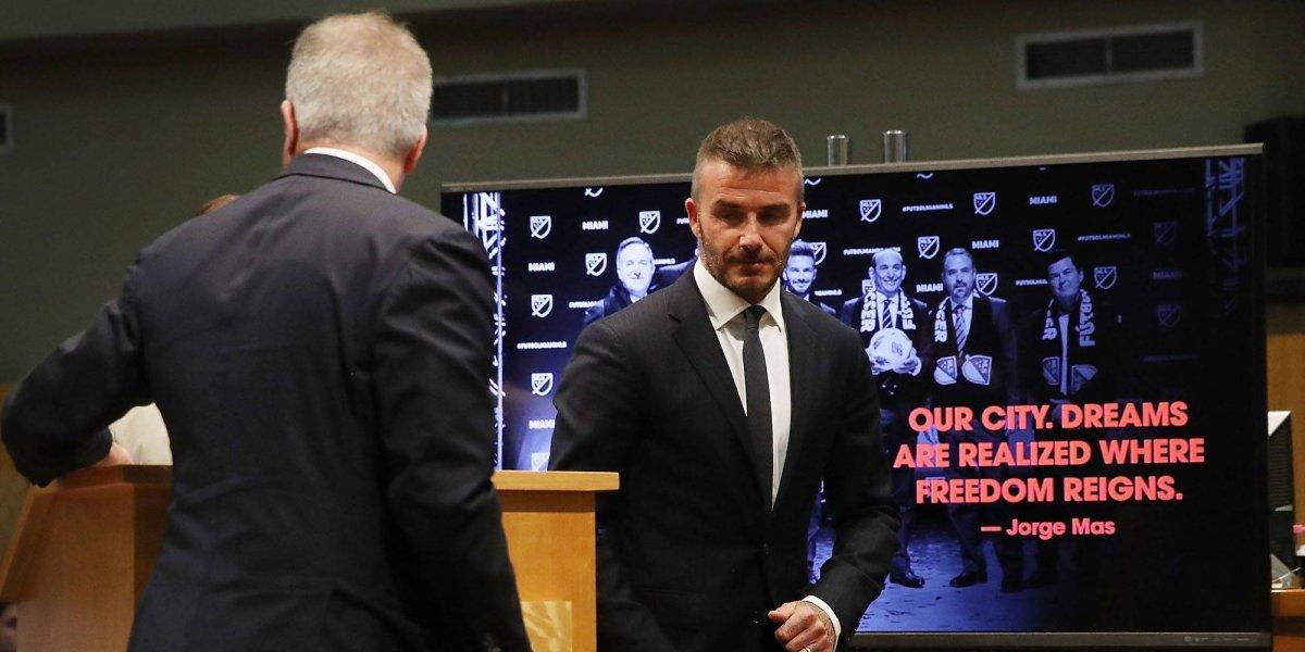 Reconocen a David Beckham con el Premio Presidente de la UEFA