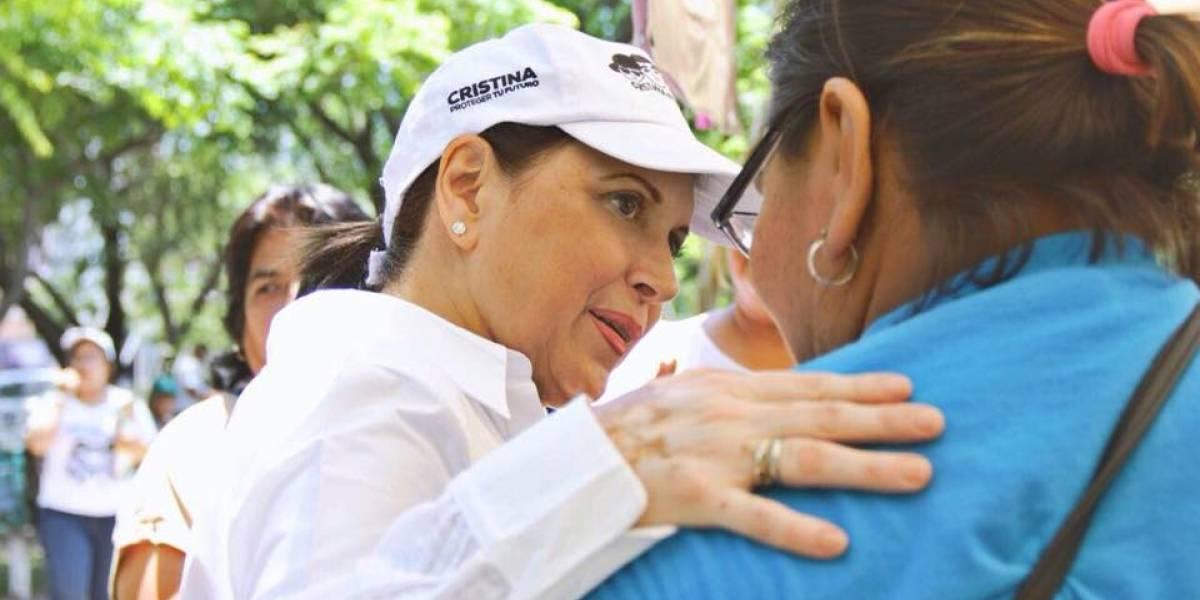 Cristina Díaz recibe constancia como alcaldesa electa de Guadalupe, NL