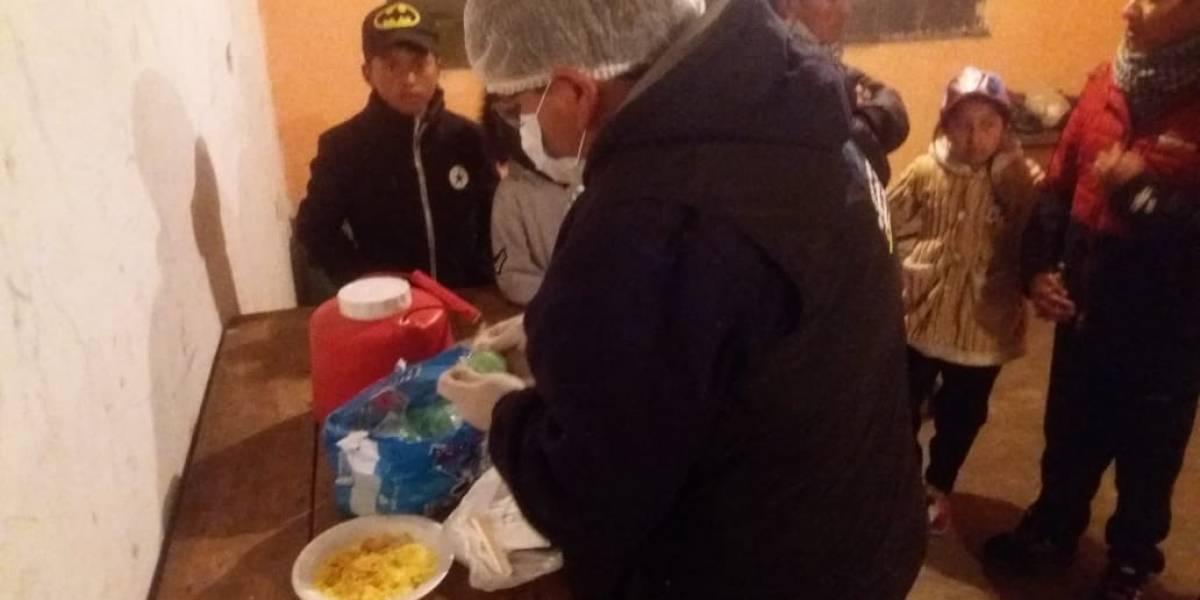 104 personas sufrieron intoxicación alimentaria en Ambato