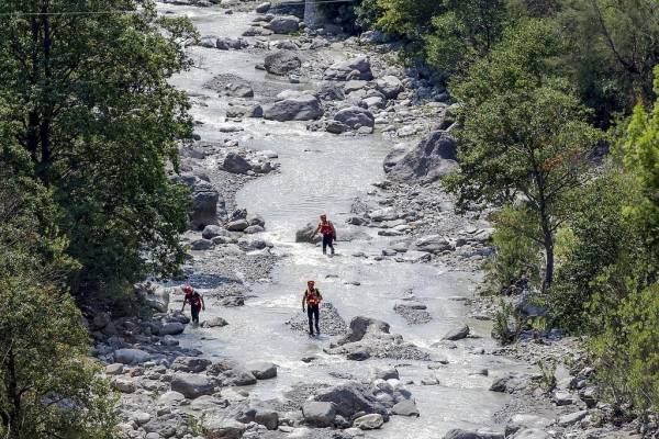 Inundaciones en Italia
