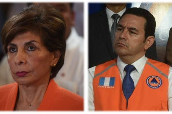 antejuicios contra presidente Jimmy Morales y diputada Nineth Montenegro