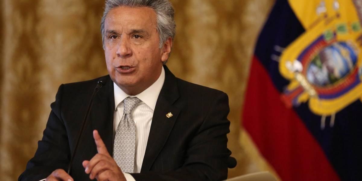 Lenín Moreno presenta nuevas medidas económicas en cadena nacional de televisión