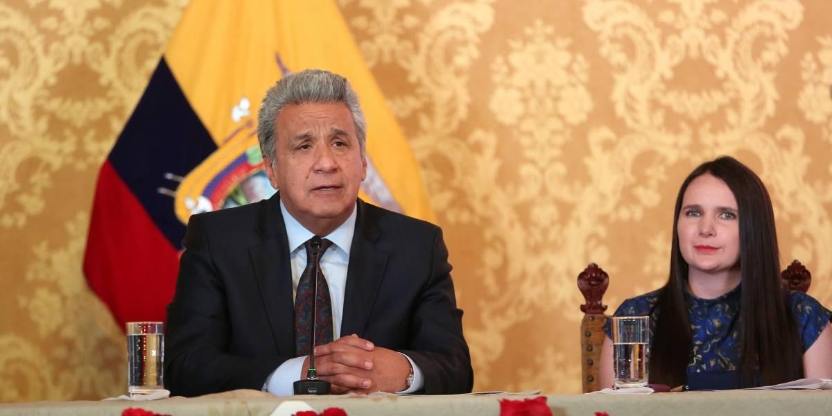 Se reducen los ministerios, entre las medidas económicas anunciadas por Lenín Moreno