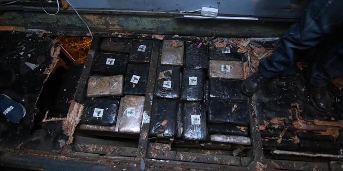 Cinco pasajeros del bus accidentado en Ecuador sabrían del cargamento de droga