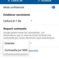 Uso del Modo Confidencial de Gmail