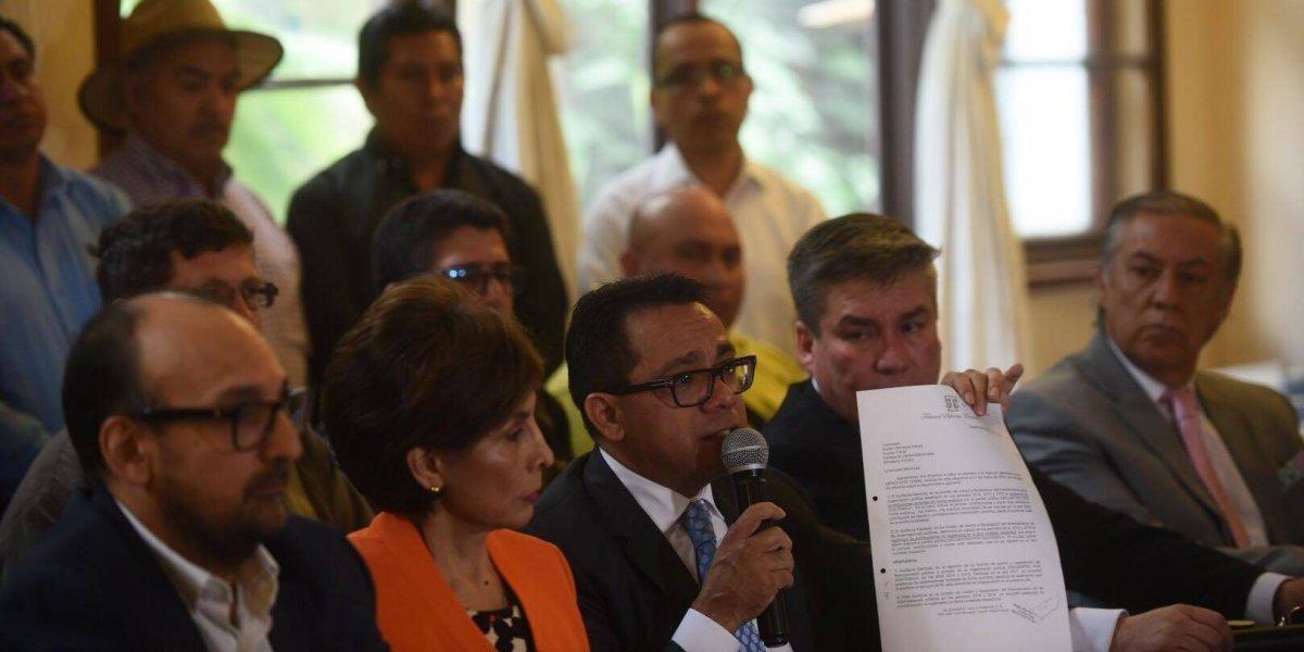 MP presenta en el TSE solicitud para la cancelación del partido Encuentro por Guatemala