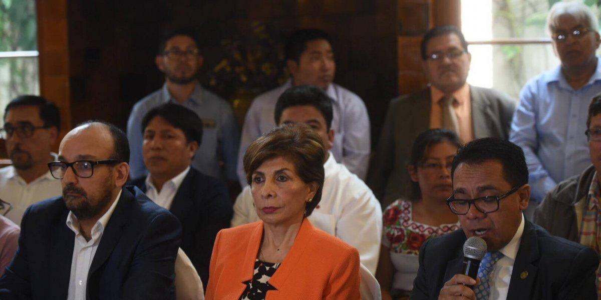 MP solicitará al TSE la cancelación del partido Encuentro por Guatemala