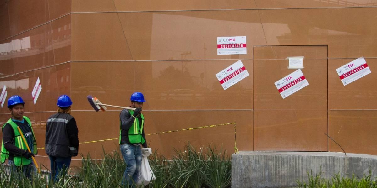 Reabre Plaza Artz, cerca de 40 días después del derrumbe