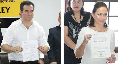 """Celebran priistas Adrián y Cristina que el Tribunal Estatal Electoral """"hiciera justicia"""""""