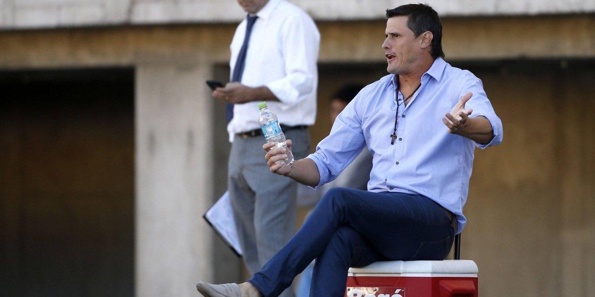 """Germán Cavalieri presentado como nuevo entrenador de Ñublense: """"Soy un técnico que asume riesgos"""""""