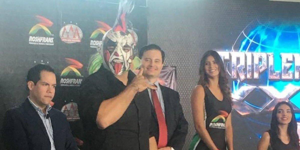 'Sería un privilegio tener cualquiera de las otras tres máscaras': Psycho Clown