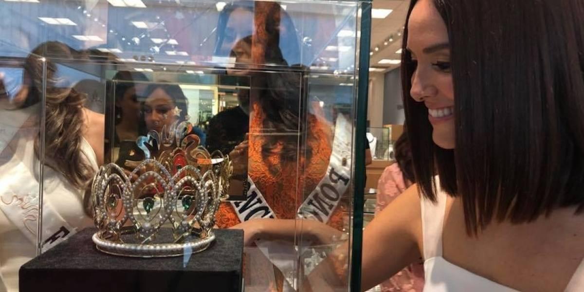 Presentan la nueva corona de Miss Universe Puerto Rico