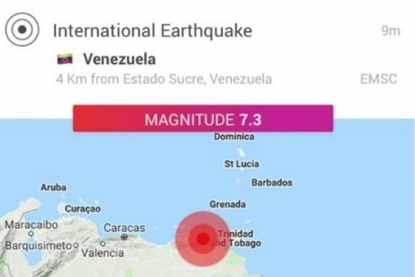 terremoto venezuela sismo 21 de agosto