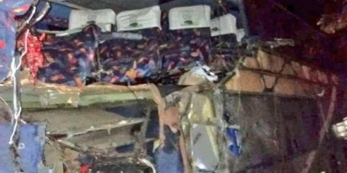 Se cambiaron de lugar y se salvaron de morir en fatal accidente en Izabal