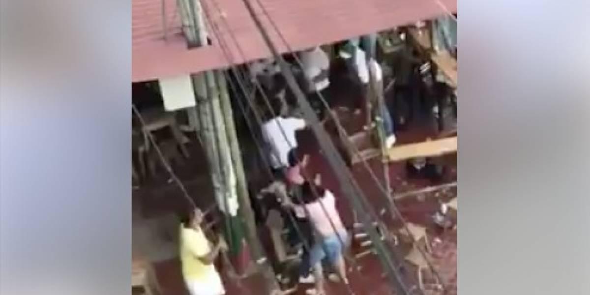 Video de pelea que circula en redes no fue en Yaguachi